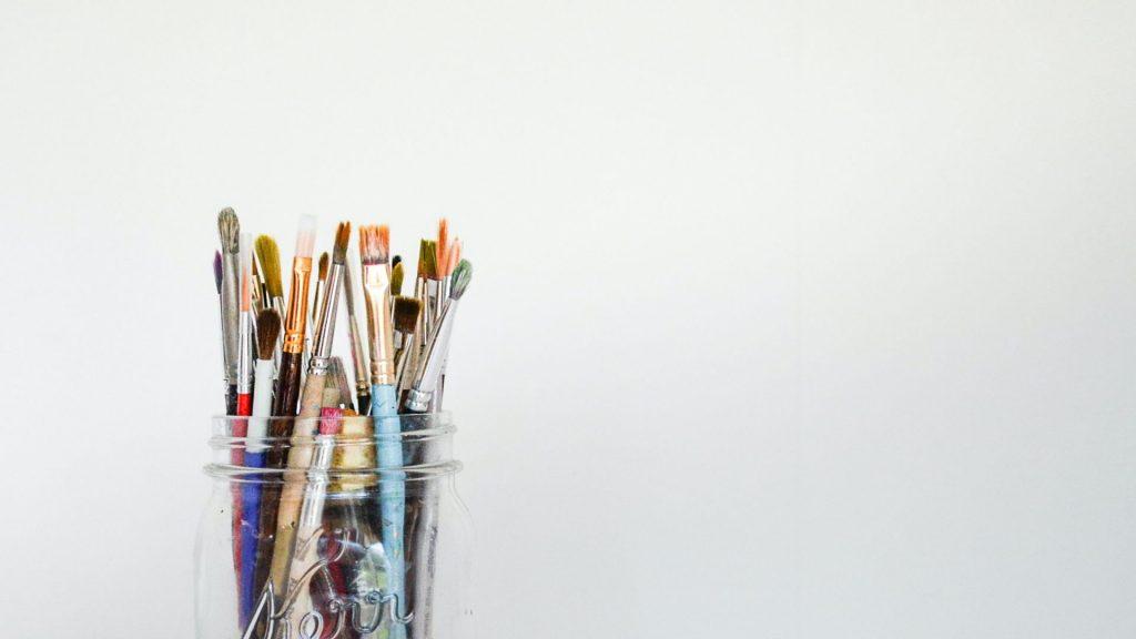 Arte Pinceles Pintura