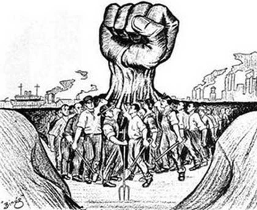 Lucha de clases opresion proletariado sociologia marx