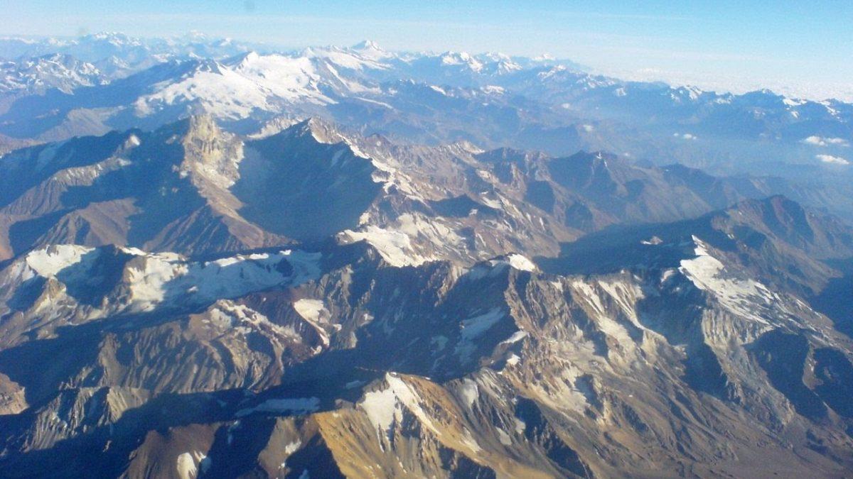 Cordillera de los Andes Geografia Relieve Argentina Montaña