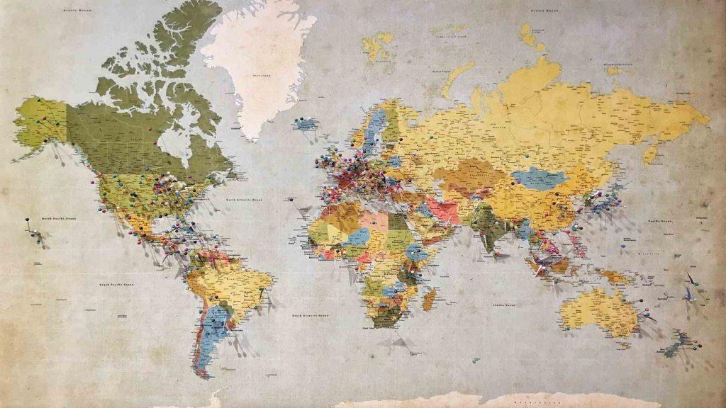 Geografia Mapa Mundo