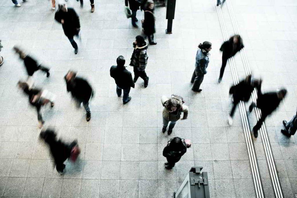 Sociologia Personas Peatonal Ciudad