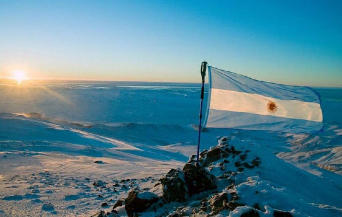 Antartida Bandera Argentina