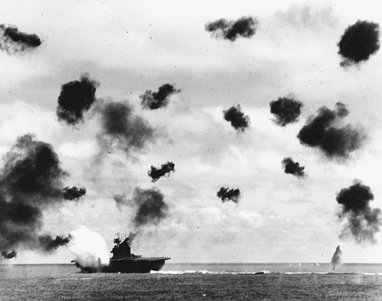 Batalla Midway Segunda Guerra Mundial