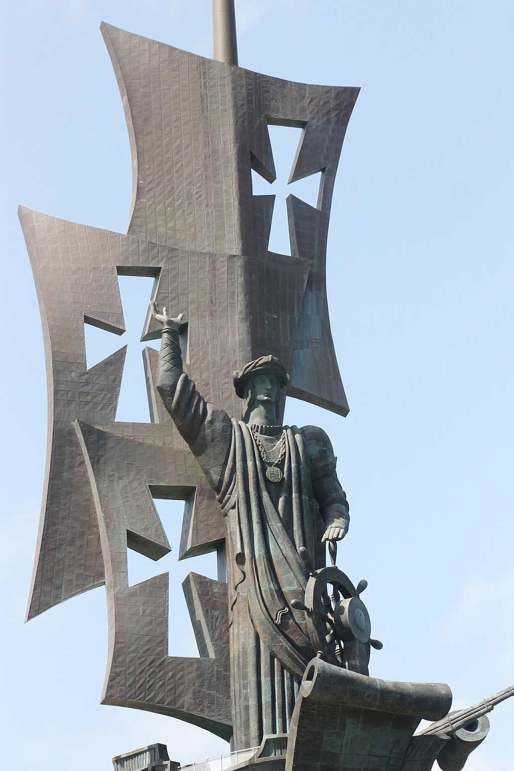 Historia Cristobal Colon Estatua