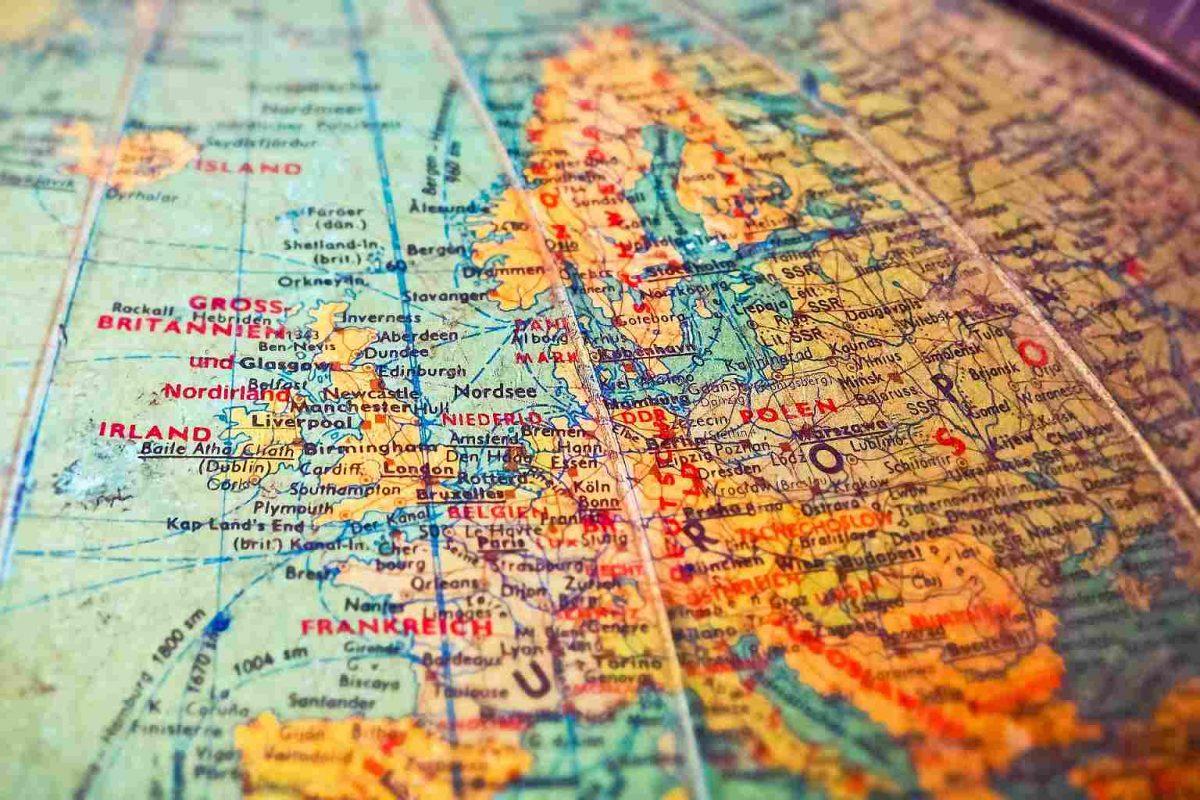Mapa Globo Tierra Geografia