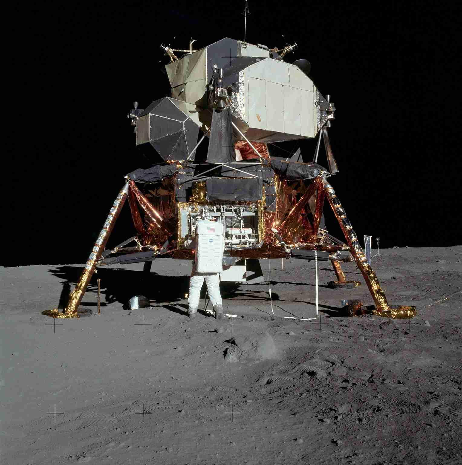 luna mision espacial apolo