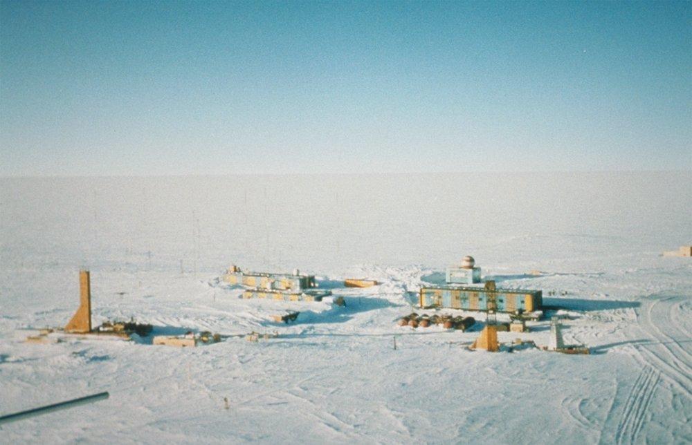 Antartida Estacion Rusia Clima