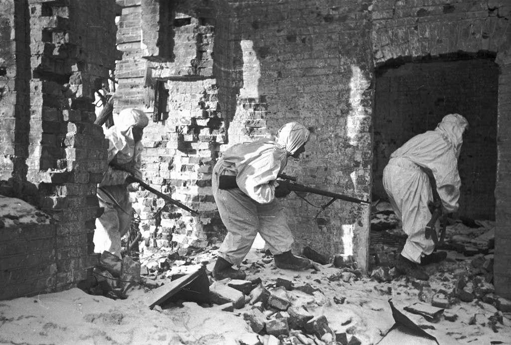 URSS Stalingrado Francotiradores Segunda Guerra Mundial