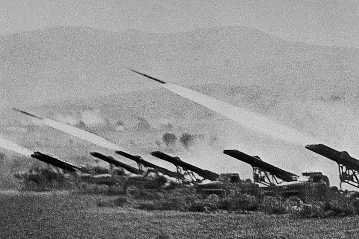 Lanzacohetes Stalingrado Segunda Guerra Mundial