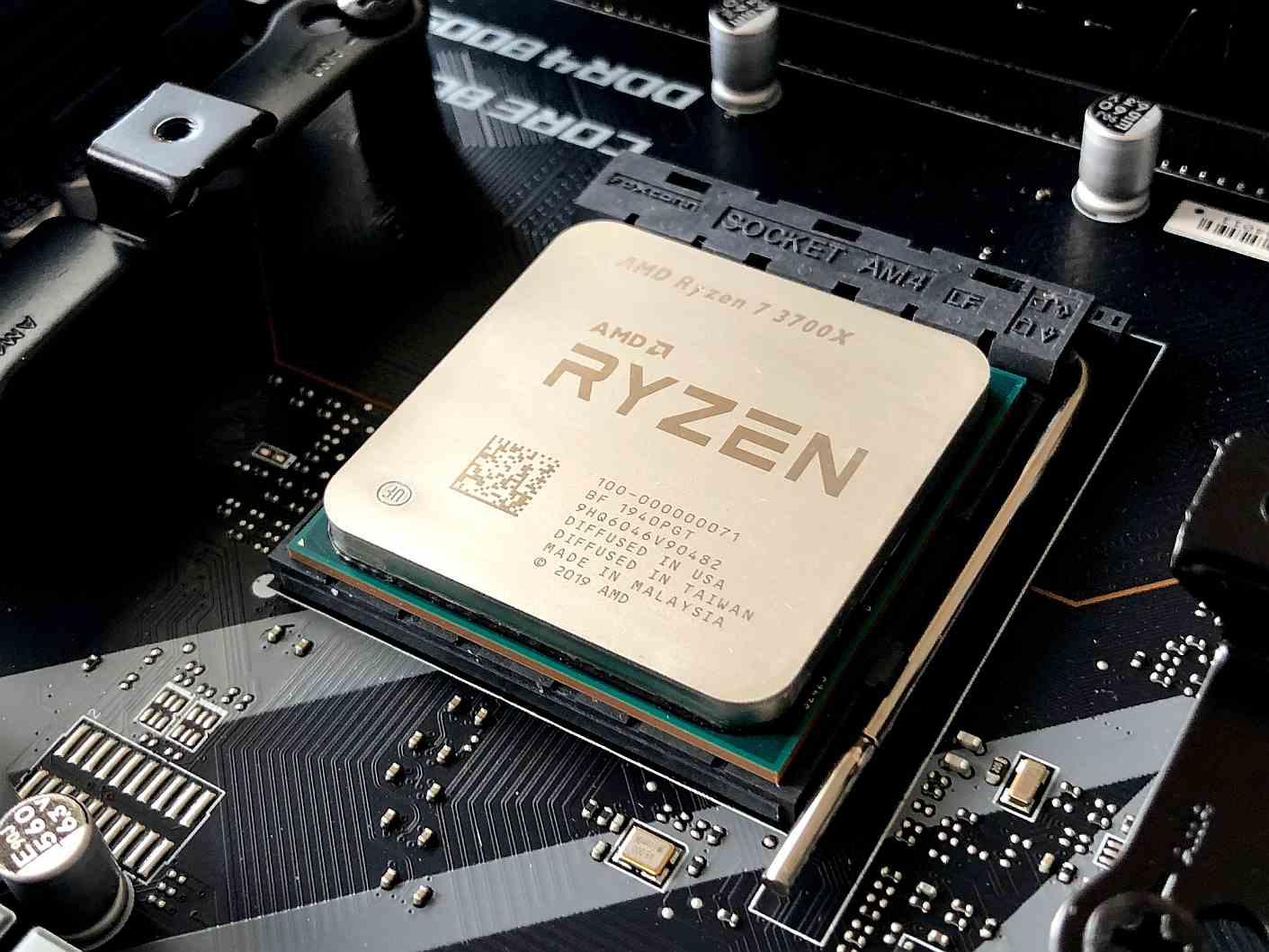 Micropocesador CPU AMD Ryzen 7 3700X