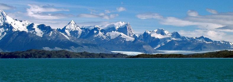 Parque Glaciares Argentina geografia