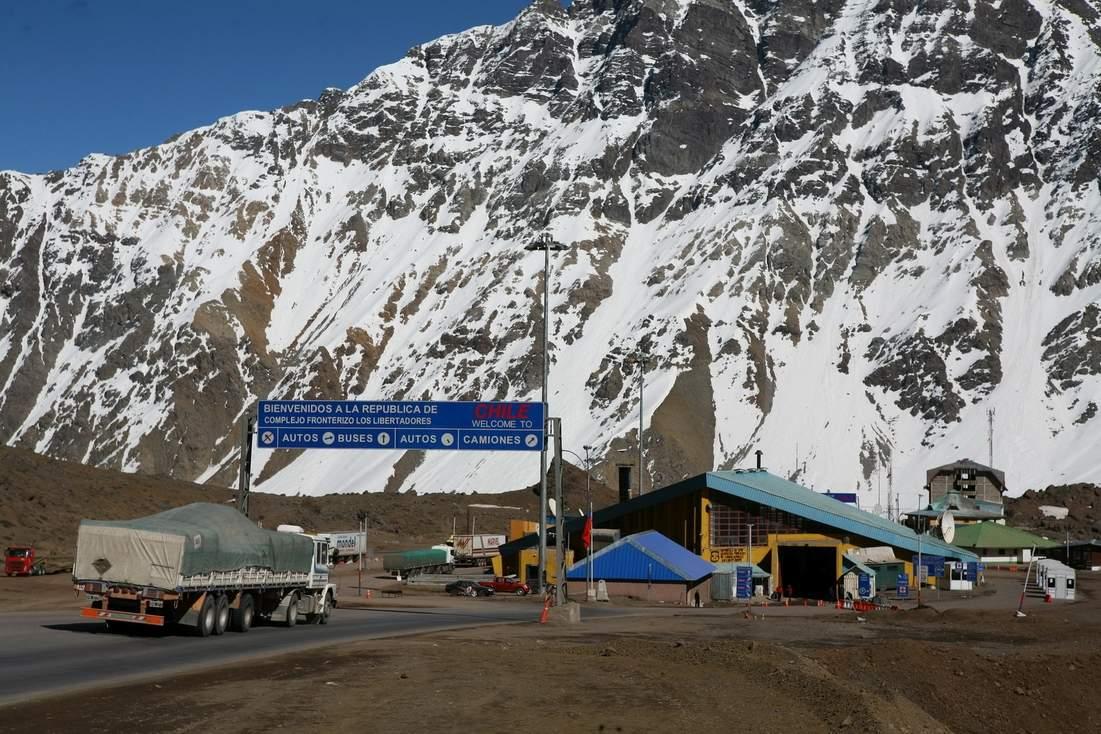 Frontera Cristo Redentor Mendoza Argentina Chile
