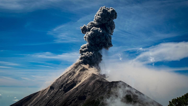 Volcan Geografía Guatemala