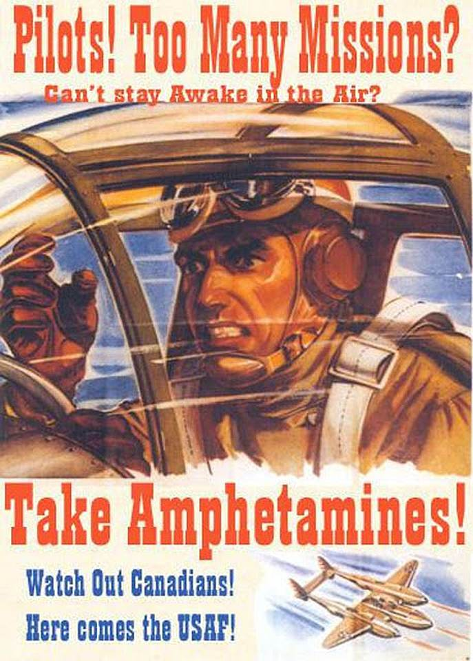 Pervitina Droga Segunda Guerra Mundial