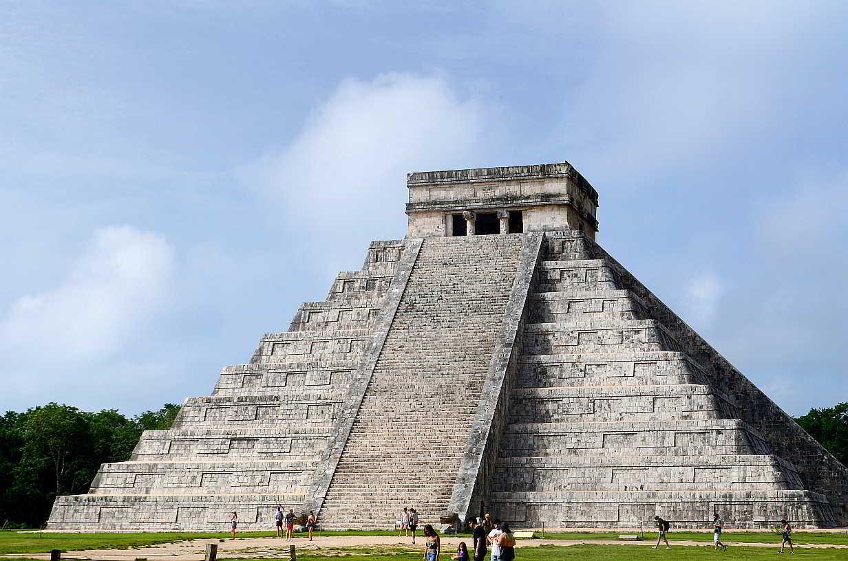 Chichen Itza Mexico Maravilla Mundo