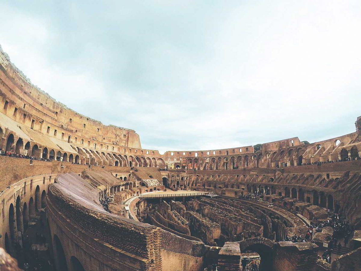Coliseo Romano Italia Maravilla Mundo