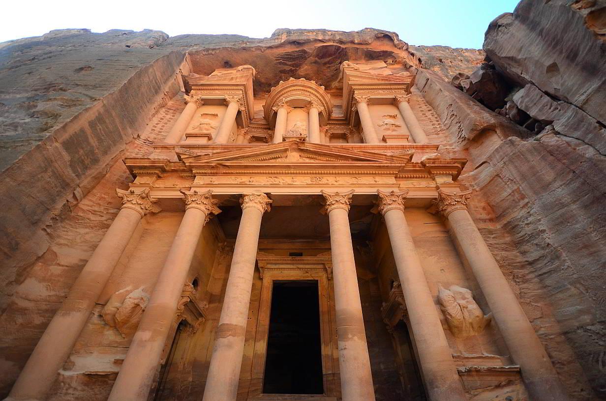 Petra ciudad perdida maravilla mundo