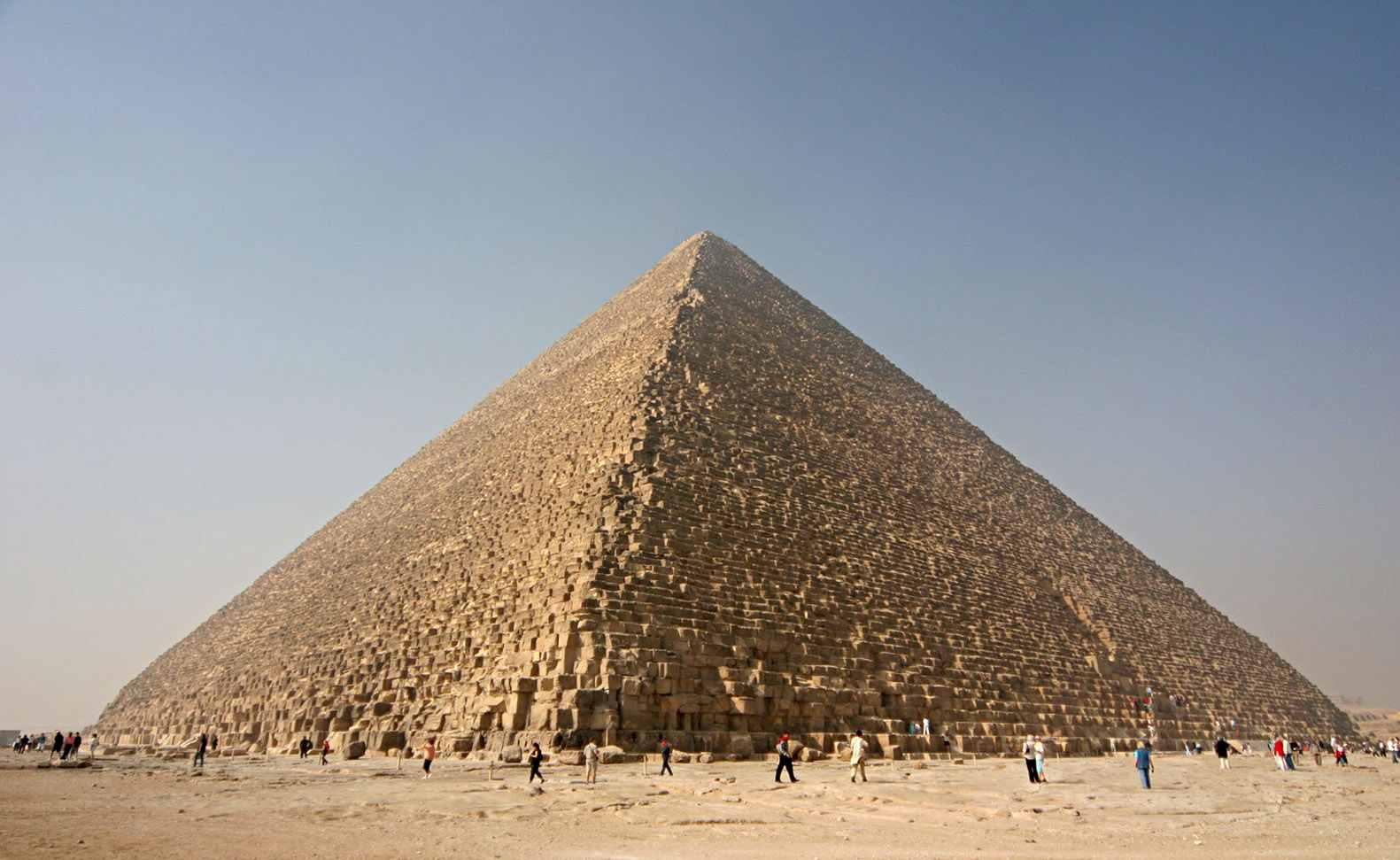 Piramide Keops Siete Maravilla Mundo Antiguo