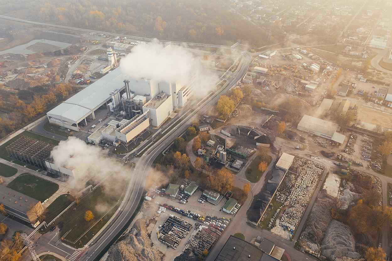 Fabricas Industrias Contaminacion