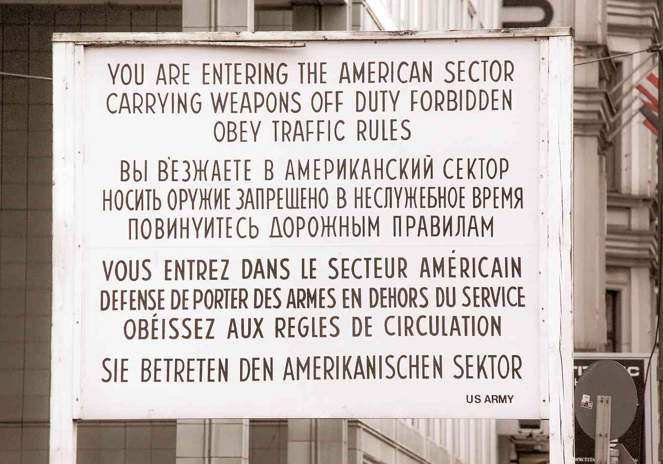 Guerra Fria Muro Berlin Alemania