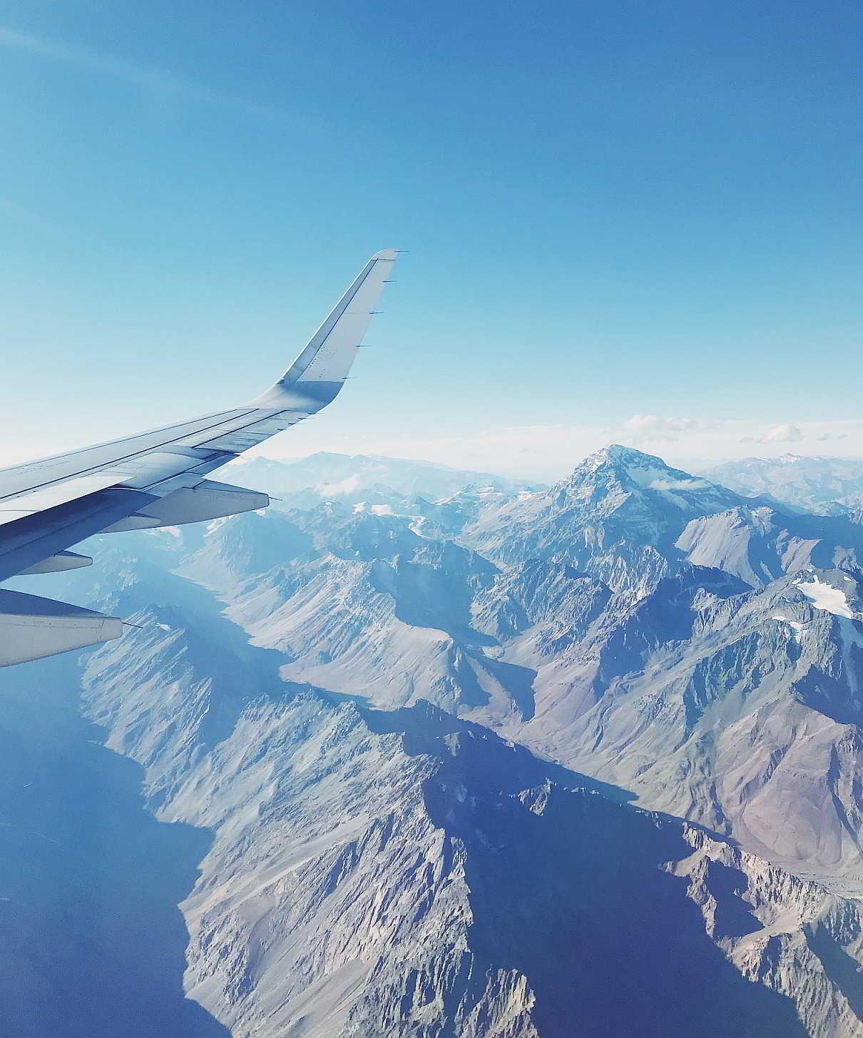 Cordillera Los Andes Chile Valparaíso