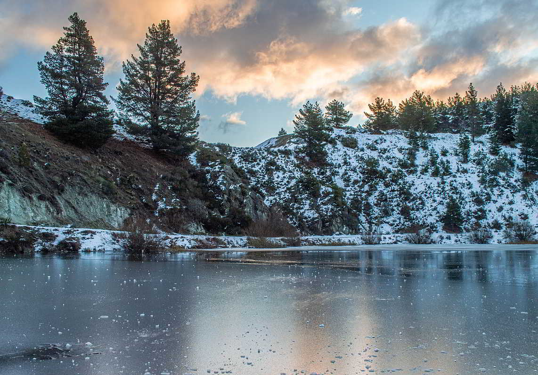 Esquel Chubut Argentina Nieve Parque Nacional Alerces