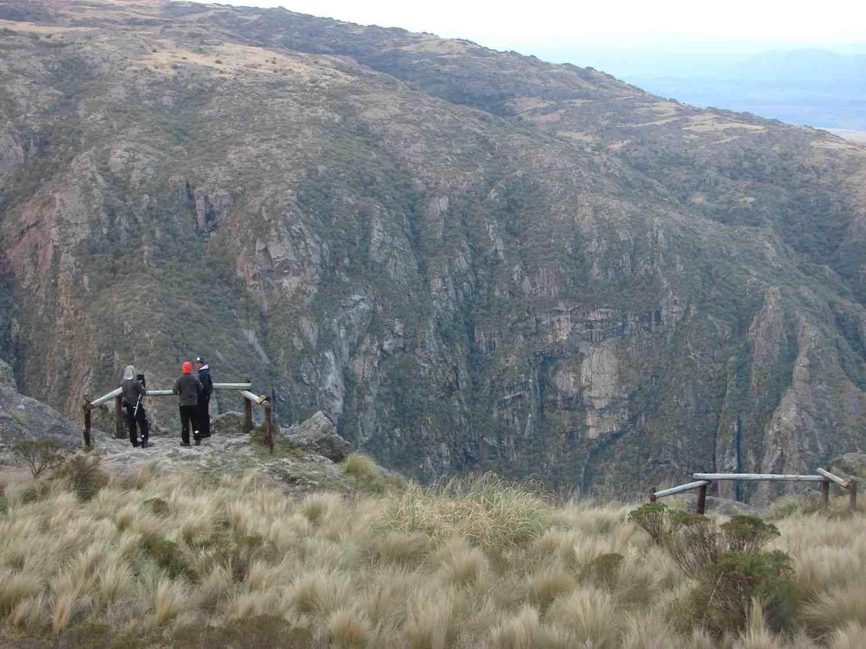 Quebrada del Condorito Córdoba 7 maravillas