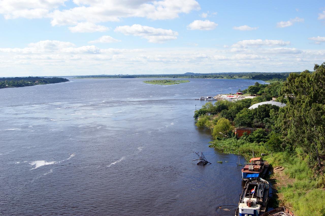 Cuenca Plata Río Paraguay Hidografía Geografía América