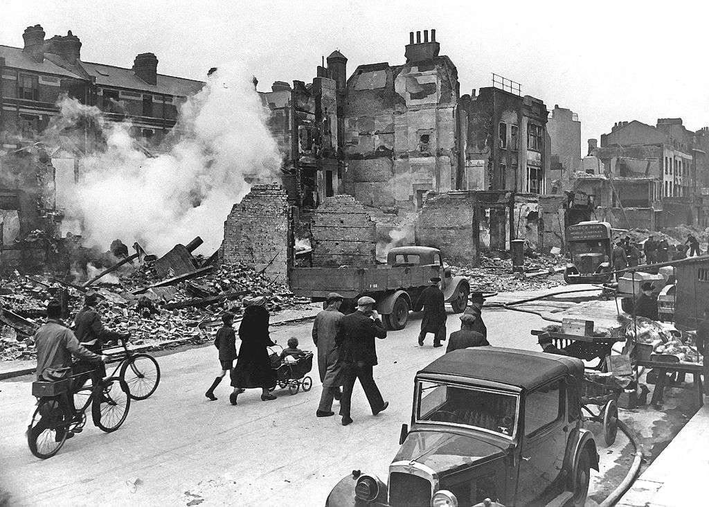 Londres Batalla de Inglaterra Segunda Guerra Mundial