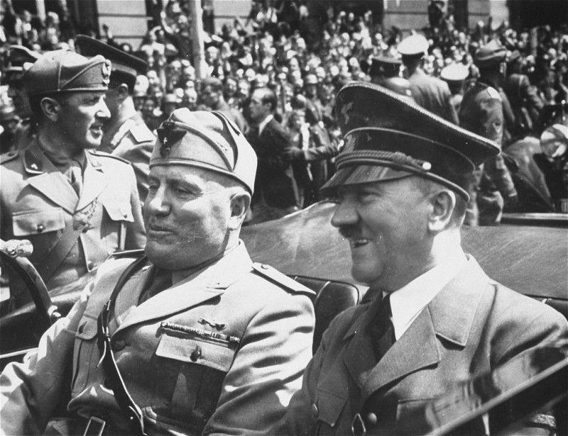 Hitler Mussolini Segunda Guerra Mundial