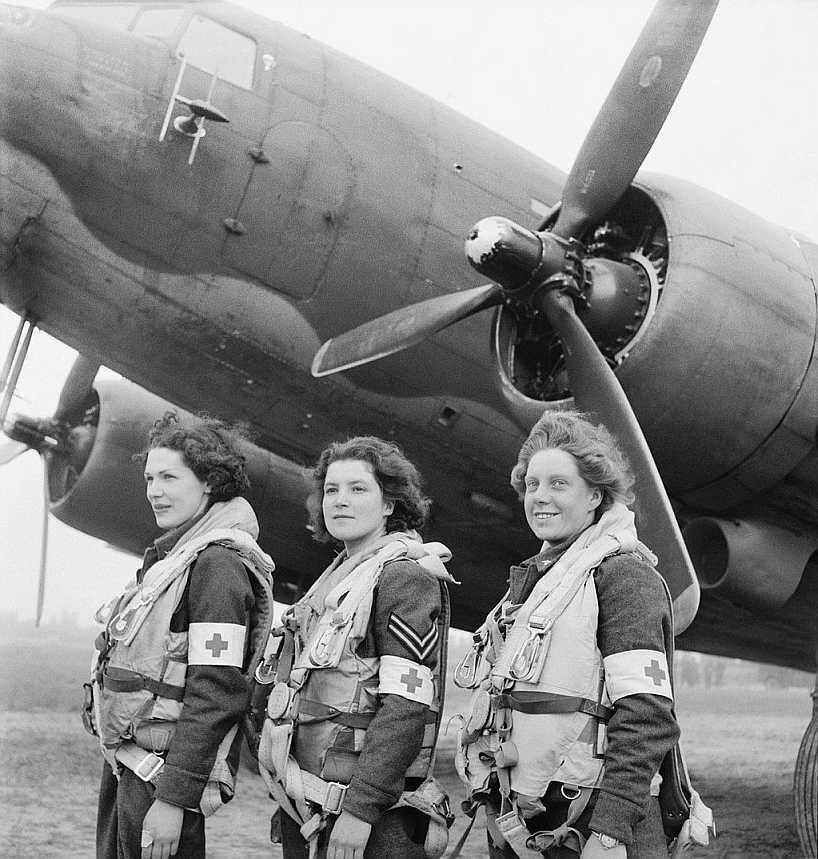 Mujeres Fuerza Aérea Inglaterra Segunda Guerra Mundial