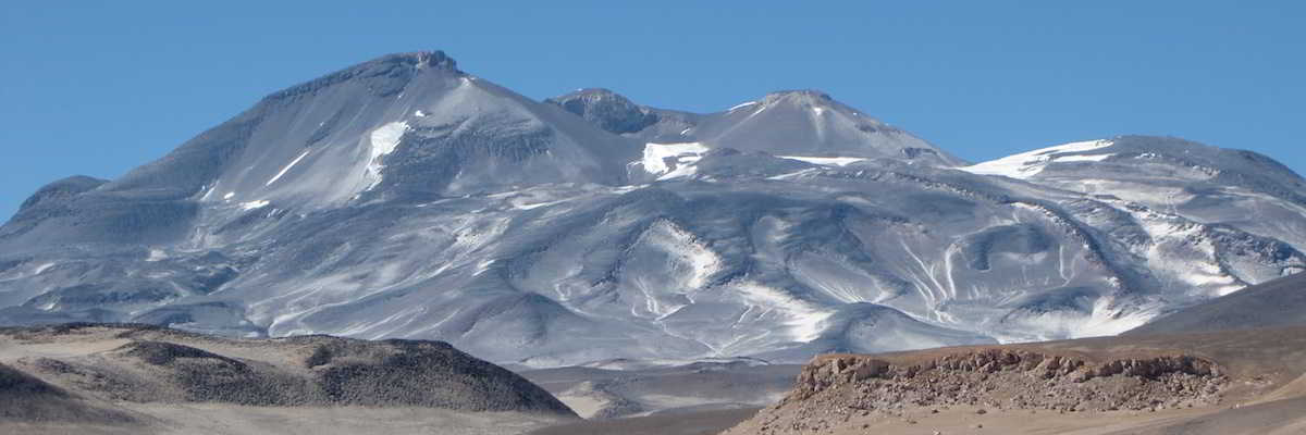 Nevado Ojos del Salado Volcan Argentina