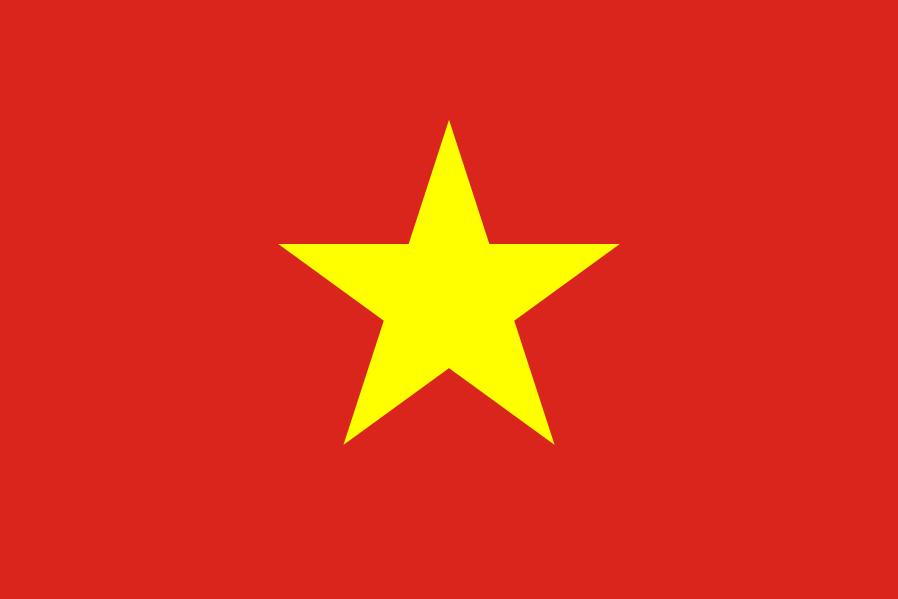 Bandera Vietnam del Norte