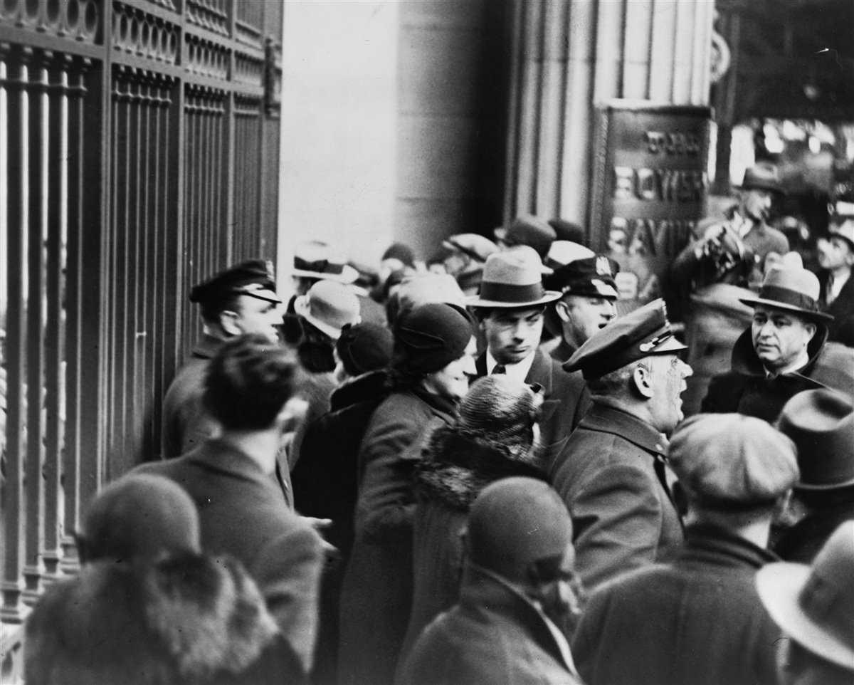 Crack del 29 Crisis Gran Depresion Wall Street