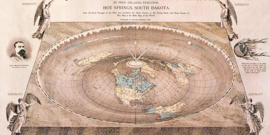 Terraplanismo Tierra plana
