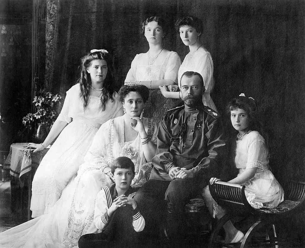 Zar Nicolás II Rusia