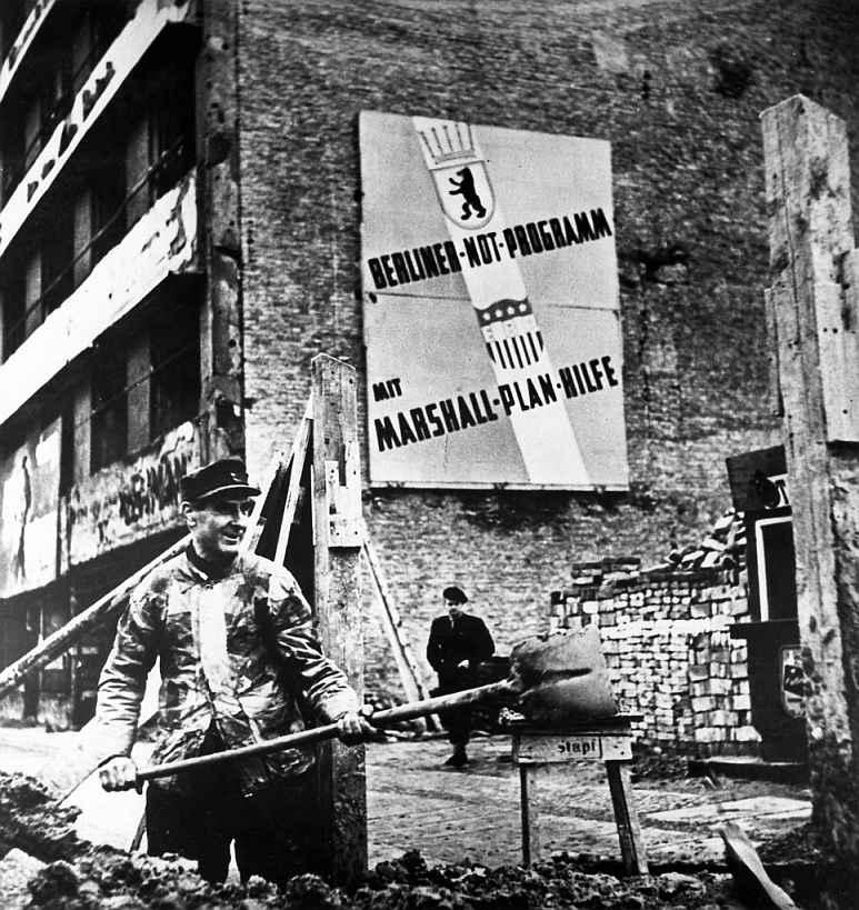 Guerra Fría Plan Marshall