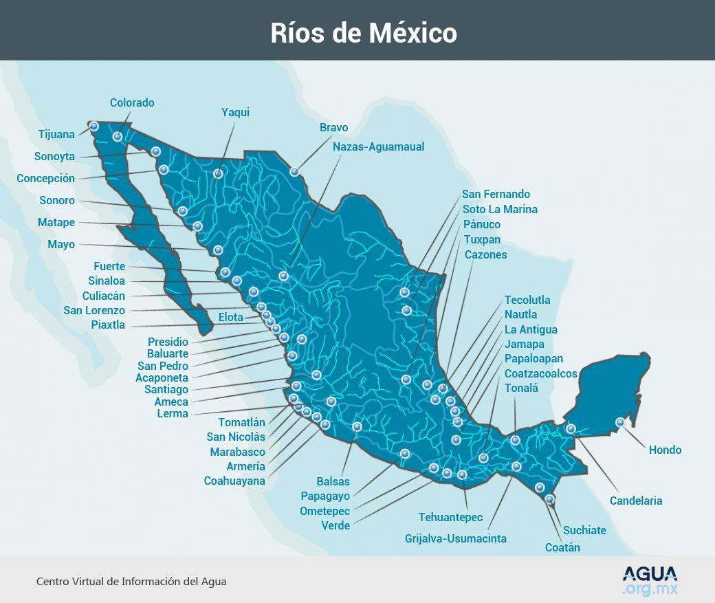 Principales ríos de México los más importantes