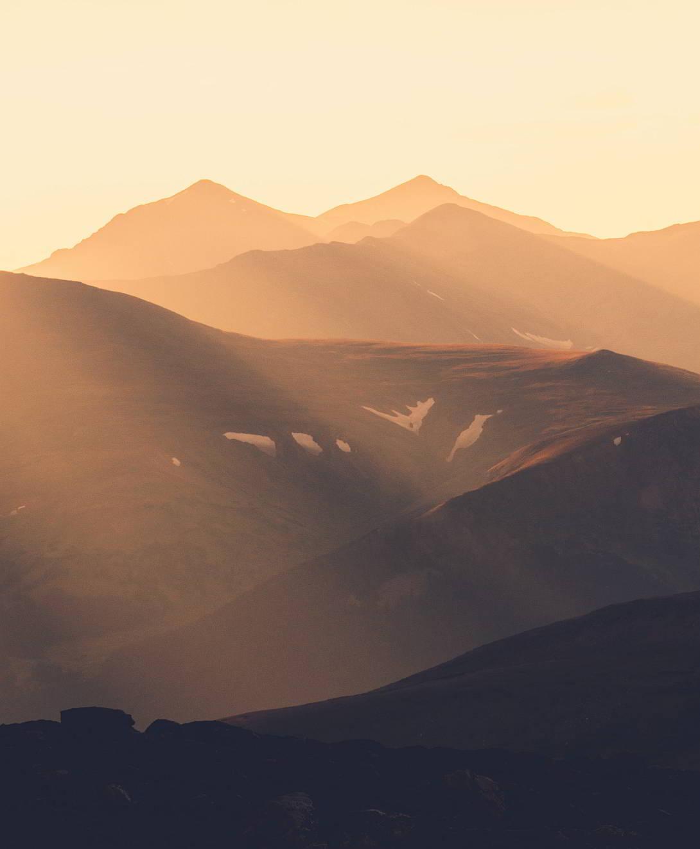 Relieve de América: Cordillera de las Rocallosas