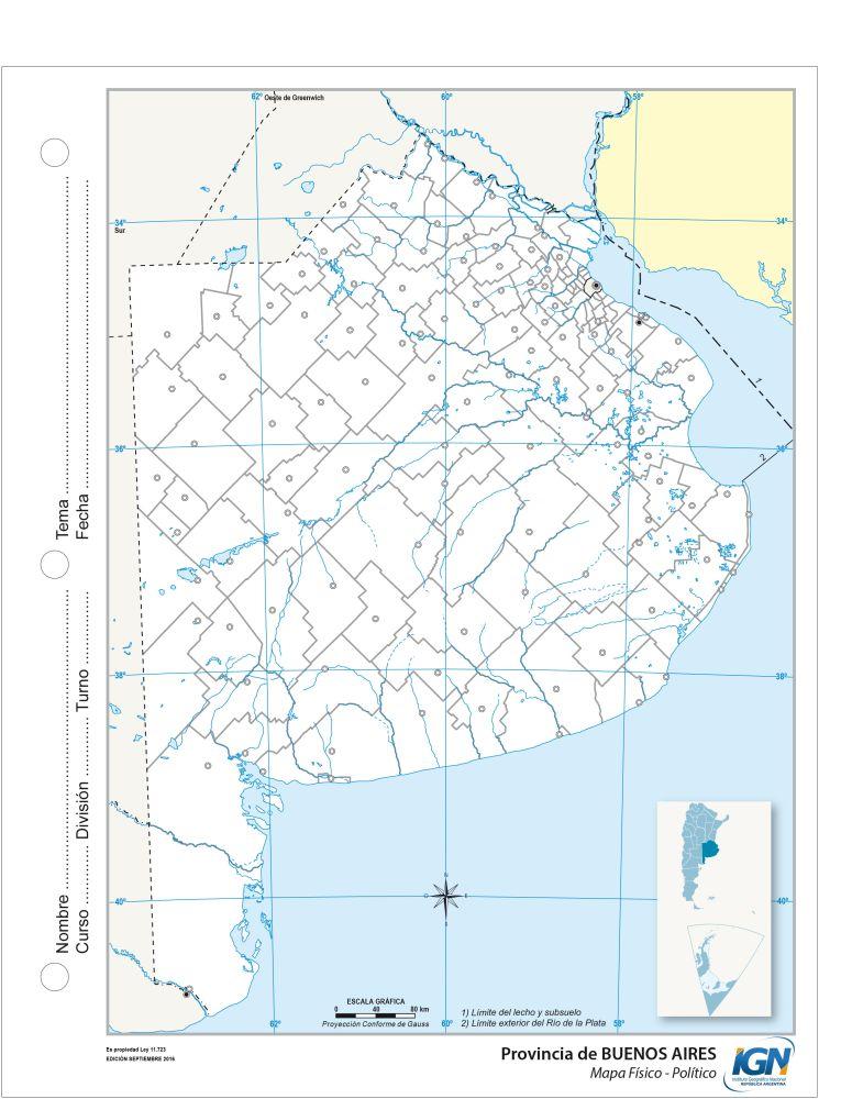 Mapa político escolar buenos aires provincia