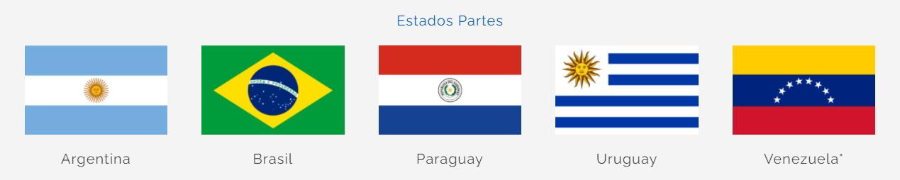 Estados Parte MERCOSUR