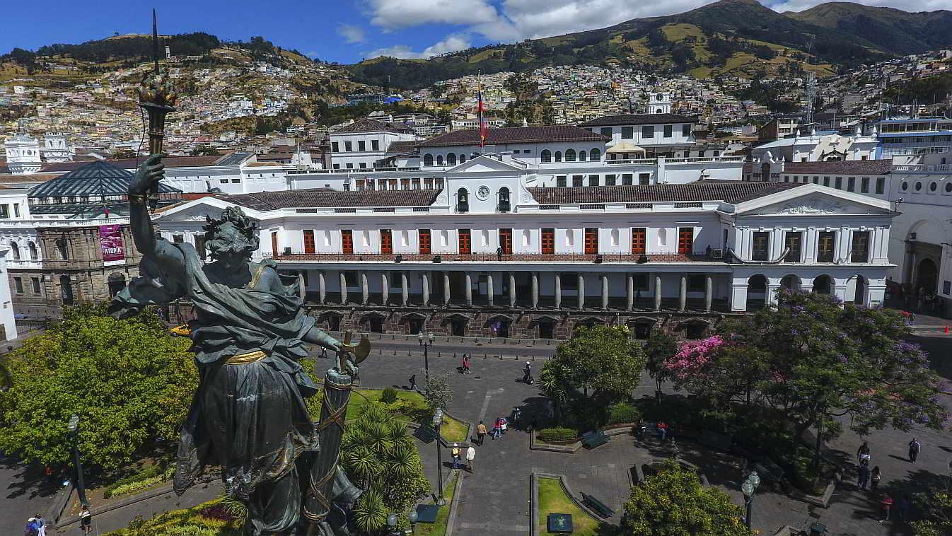 Palacio de Carondelet Casa de Gobierno Ecuador