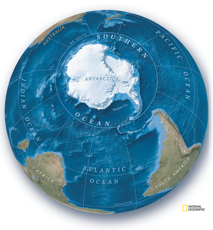 Océano Antártico Austral